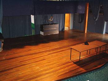 Little Theatre stage