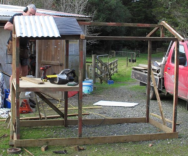chook-house construction