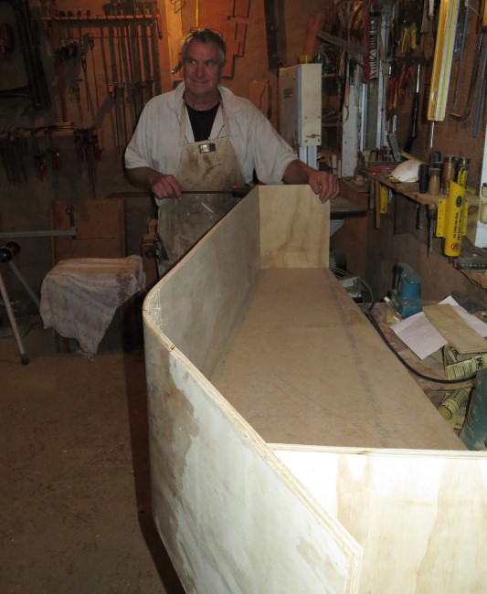 coffin-building