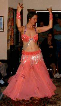Iphigenie: Stephan's personal Birthday Belly-dancer!