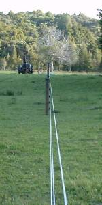 a brand new electric fence
